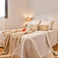 Habitaciones pequeñas de estilo  por Domonova Soluciones Tecnológicas