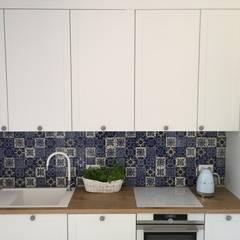 Patchworki: styl , w kategorii Kuchnia na wymiar zaprojektowany przez Cerames,Klasyczny Ceramiczny