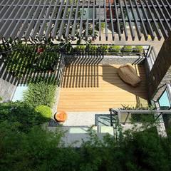 景觀設計 | 層層大院生活:  露臺 by 大桓設計顧問有限公司