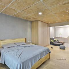 Habitaciones pequeñas de estilo  por 森畊空間設計