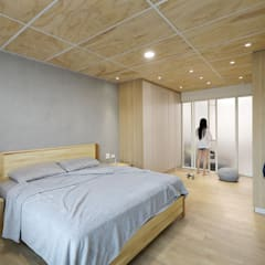 Floors by 森畊空間設計, Minimalist Wood-Plastic Composite