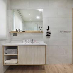 透天住宅設計 = 無 印 簡 約 S t y l e:  浴室 by 森畊空間設計