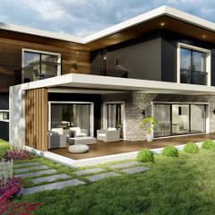 B. Uzuner - Villa ANTE MİMARLIK Modern