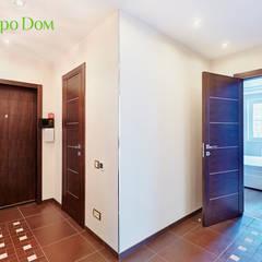 Ремонт трехкомнатной квартиры 103 кв. м в современном стиле: Коридор и прихожая в . Автор – ЕвроДом