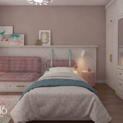 OFİS316 TASARIM PROJE UYGULAMA – Asmalıbahçeşehir Evi:  tarz Çocuk Odası