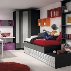 Mobiliario para dormitorio juvenil: Habitaciones juveniles de estilo  de GATON VALLE