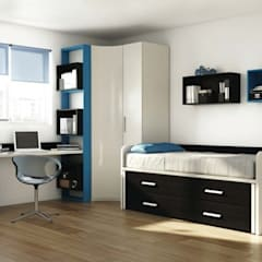 Mobiliario para dormitorio juvenil: Dormitorios infantiles de estilo  de GATON VALLE
