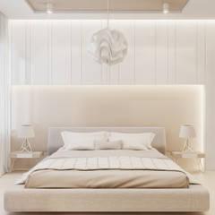 Beta İç Mimarlık – SV Evi:  tarz Yatak Odası