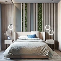 ЖК Ясный, Уютный лофт: Спальни в . Автор – Mstudio, Лофт
