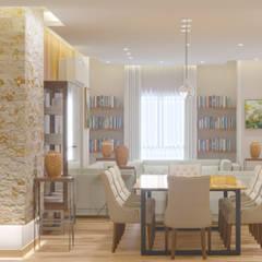 :  غرفة المعيشة تنفيذ mhdzns - Design & Architecture