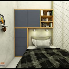 Small bedroom by CV Leilinor Architect