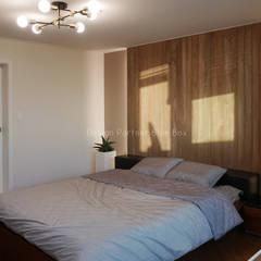 [주거공간] 아파트 인테리어 40평형대: Design Partner Blue box의  방