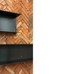 [사무공간] 오피스 인테리어: Design Partner Blue box의  서재 & 사무실