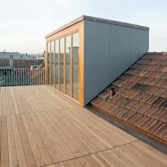 Roof terrace by Ave Merki Architekten