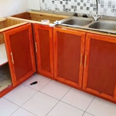 Kitchen Makeover:  Kitchen by Apex Zone (Pty) Ltd, Country