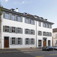Liegenschaft Petersgraben basel:  Häuser von Ave Merki Architekten