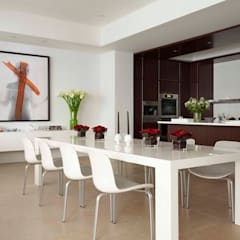 Dining with Love:  Dining room by Navin Ramalingam, Modern