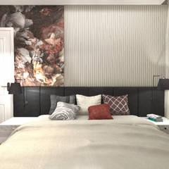 Mieszkanie na Woli: styl , w kategorii Sypialnia zaprojektowany przez ANNA HIRSZBERG 'HIRSZBERG' PRACOWNIA ARCHITEKTONICZNA,