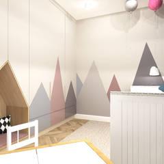 غرفة الاطفال تنفيذ ANNA HIRSZBERG 'HIRSZBERG' PRACOWNIA ARCHITEKTONICZNA, كلاسيكي