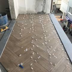 Orby İnşaat Mimarlık – Çarşı Daire Yenileme Projesi:  tarz Balkon