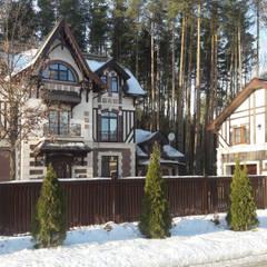 Дизайн интерьера и архитектурный проект дома: Дома в . Автор – Studio Design-rise ,