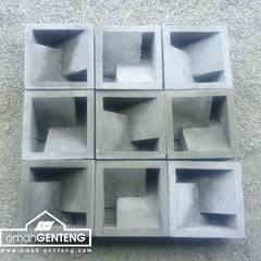 Roster Beton Minimalis - HP/WA: 08122833040 - Omah Genteng | OMAGENCE: Kantor & toko oleh Omah Genteng, Minimalis Beton
