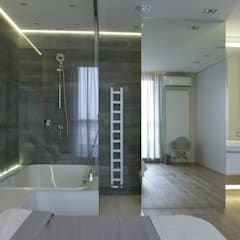 130m2 - żoliborz: styl , w kategorii Sypialnia zaprojektowany przez t design