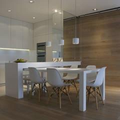 130m2 - żoliborz Skandynawska kuchnia od t design Skandynawski