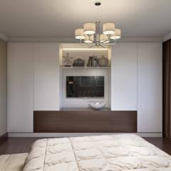 Квартира в ЖК «На Калитниковской» : Маленькие спальни в . Автор – 'INTSTYLE'