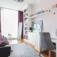 Apartament inspirowany stylem New York od ZAWICKA-ID Projektowanie wnętrz Nowoczesny