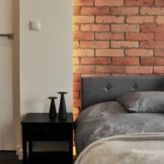 Apartament w Katowicach: styl , w kategorii Małe sypialnie zaprojektowany przez TIKA DESIGN