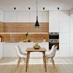 З двух в одну:  Вбудовані кухні by 'EDS' Exclusive Design Solutions,