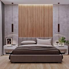 З двух в одну:  Спальня by 'EDS' Exclusive Design Solutions