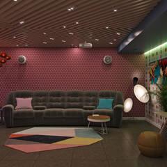 غرفة الميديا تنفيذ Wide Design Group