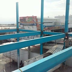 Flat roof by AXKAN ESTRUCTURASyCONSTRUCCION,