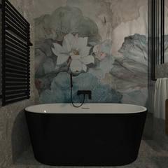 mieszkanie//89: styl , w kategorii Łazienka zaprojektowany przez TOTAMSTUDIO pracownia architektury wnętrz