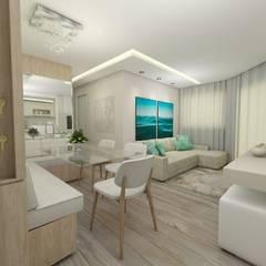 Dining room by CG arquitetura e interiores