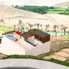 Casa de Playa - BUJAMA: Casas de estilo  por Corporación Siprisma S.A.C, Minimalista