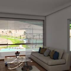 Casa de Playa - BUJAMA: Casas unifamiliares de estilo  por Corporación Siprisma S.A.C,