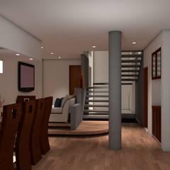 Casa de Playa - BUJAMA: Casas unifamiliares de estilo  por Corporación Siprisma S.A.C, Minimalista