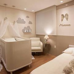 Baby room by Botelho e Friche arquitetura,