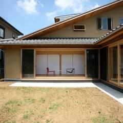 Деревянные дома в . Автор – 株式会社高野設計工房
