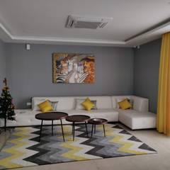 Ruang Keluarga oleh Enrich Interiors & Decors, Modern