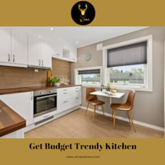 Small kitchens by Vinra Interiors |Bangalore|