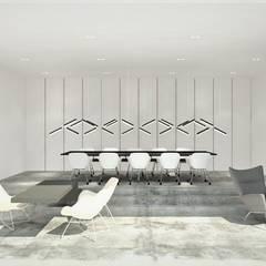 Projekt biura Pracowni Projektowania Wnętrz: styl , w kategorii Przestrzenie biurowe i magazynowe zaprojektowany przez Wkwadrat Architekt Wnętrz Toruń