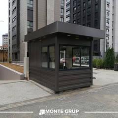 Monte Grup Yapı Sanayi – İhtiyaca Uygun Konteyner Üretimi:  tarz Ofis Alanları,