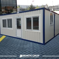 Office buildings by Monte Grup Yapı Sanayi