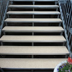 Stairs by Steinteppich der Balkon & Terrassenbelag deutschlandweit, Mediterranean
