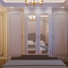 Bedroom:  Small bedroom by Flamingo Studio