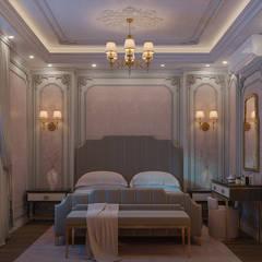 Dormitorios pequeños de estilo  por Flamingo Studio